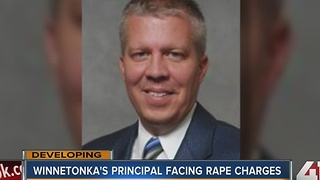 Winnetonka High School principal charged with statutory rape