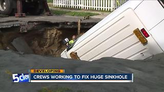 Sinkhole - Video