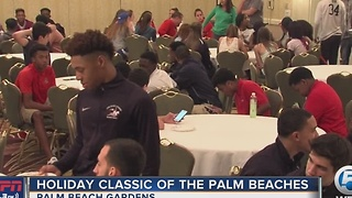 Holiday Basketball Classic Of The Palm Beaches kickoff party - Video