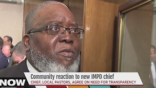 Community reacts to new IMPD chief - Video