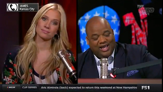 LaVar Ball Fan Calls from JAIL to Roast Kristine Leahy on The Herd - Video