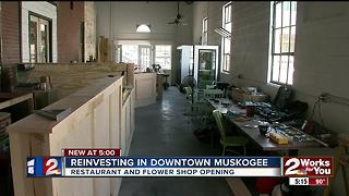 New resturant and flower shop opening in Muskogee - Video