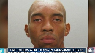 Jacksonville bank robbery suspect from Valrico