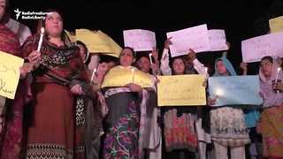 Pakistanis Hold Vigil For Afghanistan Victims - Video
