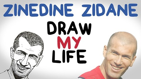 DRAW MY LIFE with Zinedine Zidane