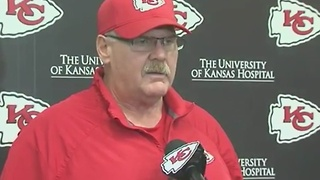 Kansas City Chiefs head coach Andy Reid on James Winchester and Oklahoma City airport shooting - Video