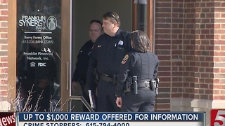 Police Investigate Attempted Bank Robbery - Video