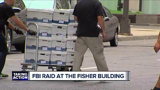 FBI raids medical office at Fisher Building in Detroit's New Center - Video