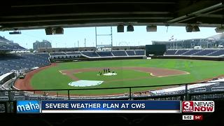 CWS severe weather plan 5pm