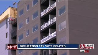City council delays occupation tax vote 6pm - Video