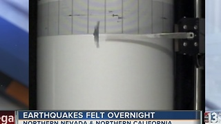 5.7 magnitude earthquake strikes Hawthorne - Video