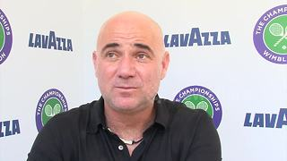 Andre Agassi reveals why he's coaching Djokovic - Video