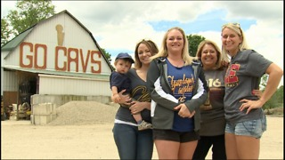 Old family tradition lives on with 'Cavs Barn' in Medina County - Video