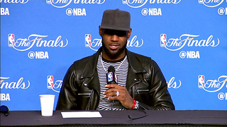 "LeBron James Says He's NEVER Played on a ""Super Team"" - Video"