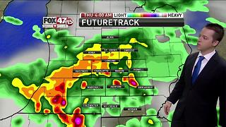 Dustin's Forecast 7-12 - Video