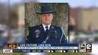 Slain deputy's son joins force in Harford County - Video