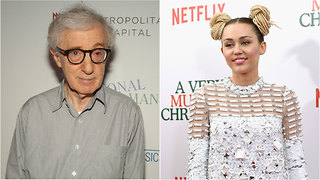 Miley Cyrus Praises Woody Allen on theFeed! - Video