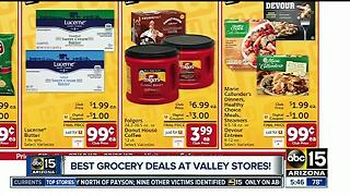 Check out the best Valley grocery store deals - Video