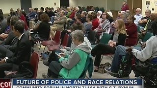 The Future Of Police And Race Relations In Tulsa - Video