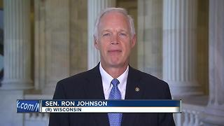 Sen. Johnson won't vote for current GOP health care bill - Video