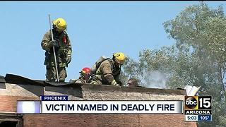 Woman identified after dying in Phoenix apartment fire