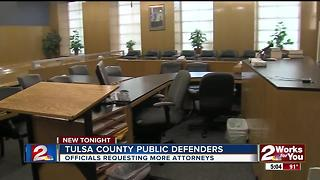 Officials requesting more attorneys - Video