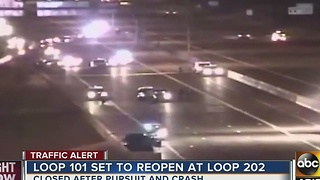 Possibly impaired driver leads troopers on pursuit before crash on L-101 - Video
