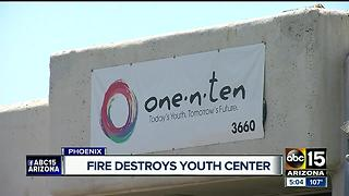 Fire destroys youth center for LGBTQ teens - Video