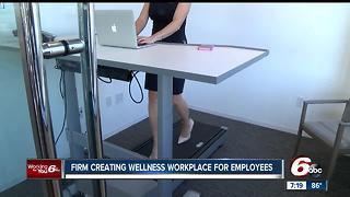 Firm creating wellness workplace for employees - Video