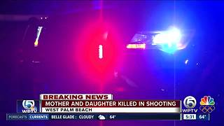 Mother, 11-year-old daughter fatally shot in West Palm Beach