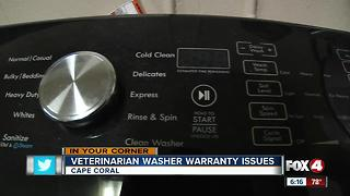 Cape Vet Clinic Washer Warranty - Video