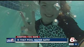 is that pool water safe? - Video