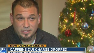 Caffeine DUI charge dropped