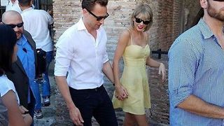 Taylor Swift and Tom Hiddleston on romantic Rome getaway - Video