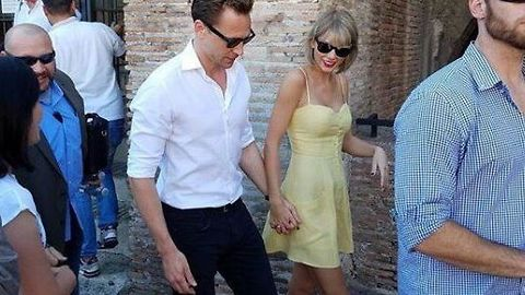 Taylor Swift and Tom Hiddleston on romantic Rome getaway