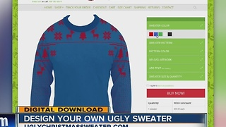 Ugly Christmas sweaters: Online tool lets you design your own - Video