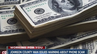 Indiana grandmother loses thousands in phone scam - Video