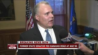 Former state Sen. Ted Kanavas has died - Video