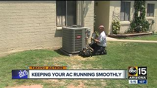 As temperatures climb, so do A/C service calls - Video