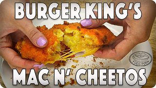 Burger King's Mac n' Cheetos recipe - Video