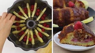 Upside down pineapple cake - Video