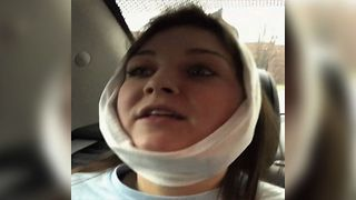 The Best Post Wisdom Teeth Surgery Reaction Of All Time - Video