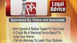 Legal Advice: A Notice 12/21/16 - Video