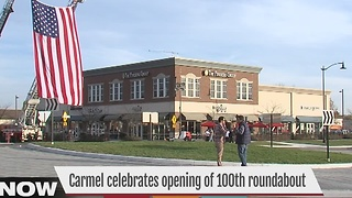 Carmel opens its 100th roundabout - Video