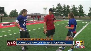 Unique rivalry at East Central - Video