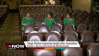 Tampa Theatre reopens after $6M renovation - Video