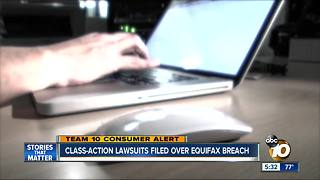 Class-action lawsuit filed over Equifax breach - Video