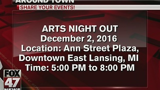 Arts Night Out in East Lansing - Video