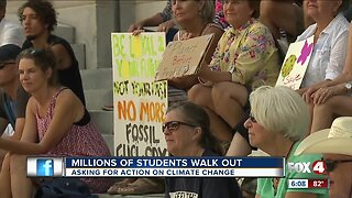 SWFL students participate in climate change strike