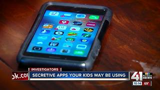 Apps kids don't want their parents to know about